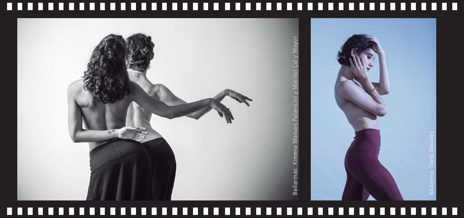 Bailarinas: Ximena Marvá y Marisol Cal y Mayorn Palavicini