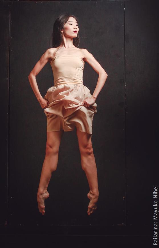 Bailarina Mayuko Nihel