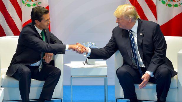 SRE niega conversación entre EPN y Trump
