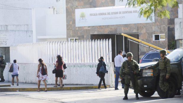 Detienen a presunto responsable de ataque a FGE-Quintana Roo