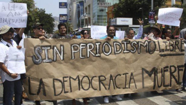 Crean asociación de periodistas para exigir fin a amenazas