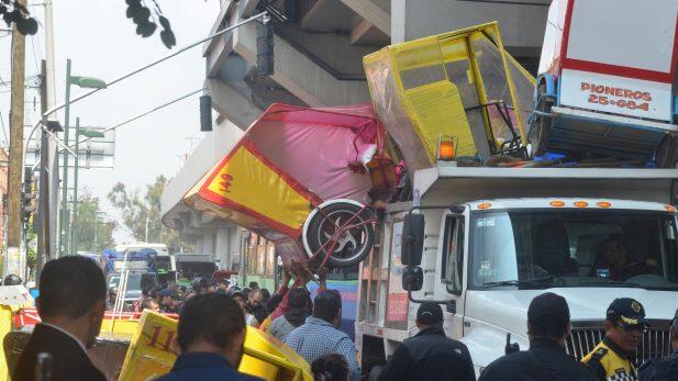 87 mototaxis fueron asegurados en operativo en Tláhuac