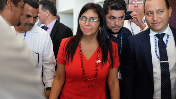 Presidenta de la Asamblea Constituyente de Venezuela, Delcy Rodríguez
