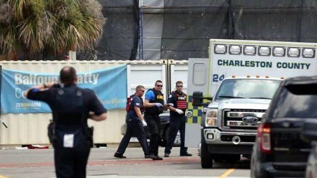 Policía de EU reporta tiroteo en Charleston