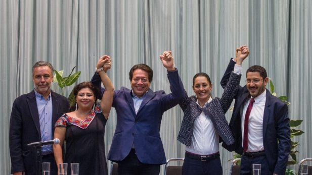 Sin Ricardo Monreal, Morena respalda a Claudia Sheinbaum