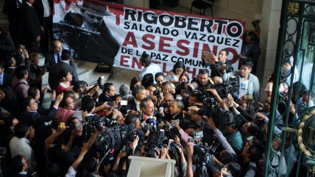 """Delegado de Tláhuac niega nexos con """"El Ojos"""""""