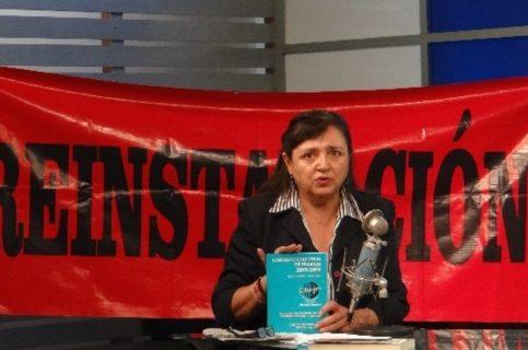 Secretaria del Sitrajor pide su reinstalación en La Jornada