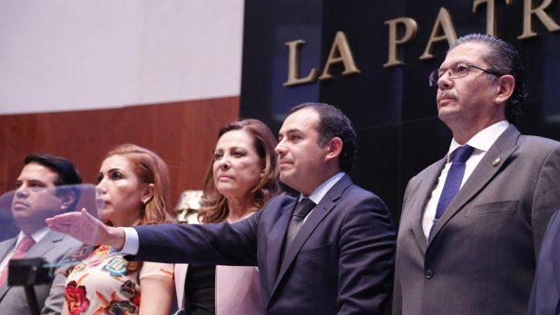 Panistas critican designación de Ernesto Cordero al frente del Senado