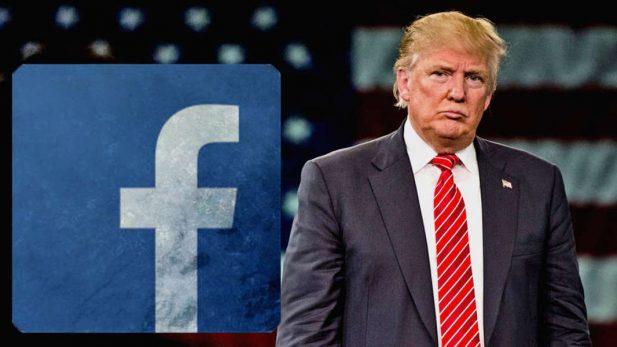 Arremete Trump contra Facebook; se colude con los medios, acusa