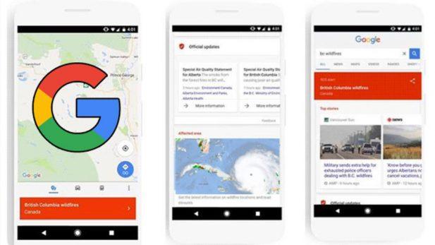 Google activa 'Alertas SOS' y un sistema de donaciones por 'Irma'