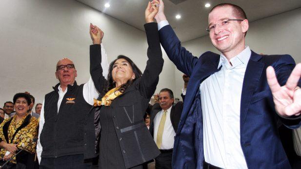 PRD, PAN y MC formalizan ante el INE Frente Amplio