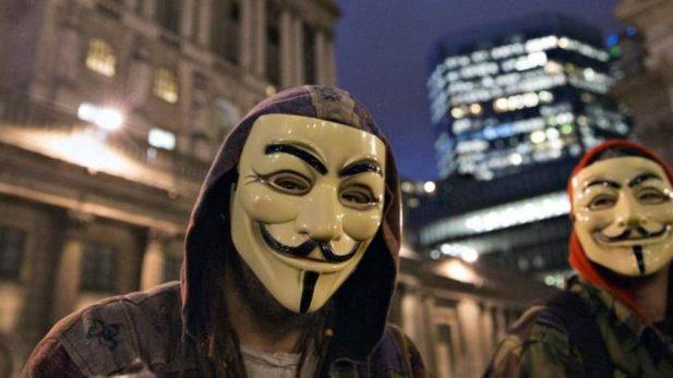 Anonymous hackea la web del diario El País
