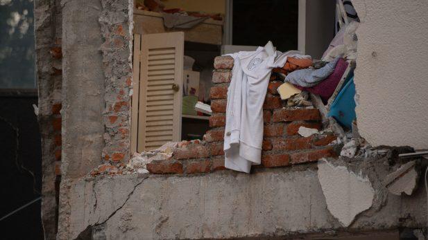 Empiezan trabajos para demoler edificios en colonias Narvarte y Juárez