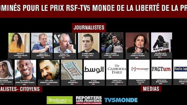 Aristegui, Río Doce y Gutiérrez, nominados al premio Libertad de Prensa