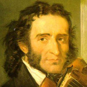 violinista italiano Niccolò Paganini