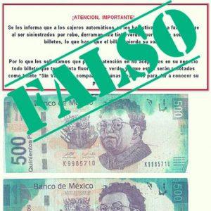 Hay varias formas en que los billetes en México pueden perder su valor, como haber perdido más de la mitad de su superficie o tener una anotación comercial.