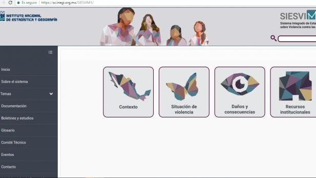 INEGI presenta nuevo sistema que reúne datos sobre violencia contra las mujeres