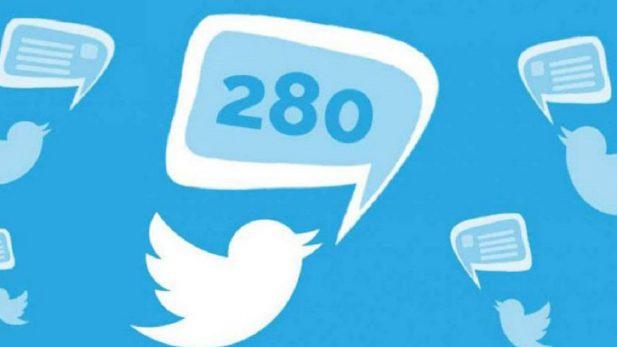 Twitter quiere aumentar de usuarios y extiende su límite de caracteres por 280