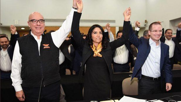 Aprueban PAN y MC su inclusión en el Frente opositor; PRD define mañana