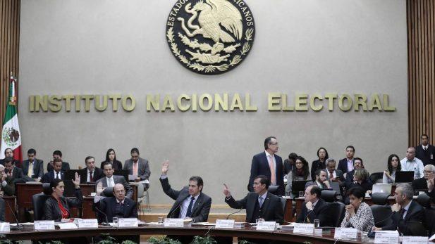INE sanciona a partidos políticos por ejercicio 2016