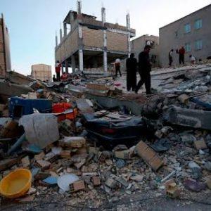 Terremoto de 7.3 sacude Irak e Irán