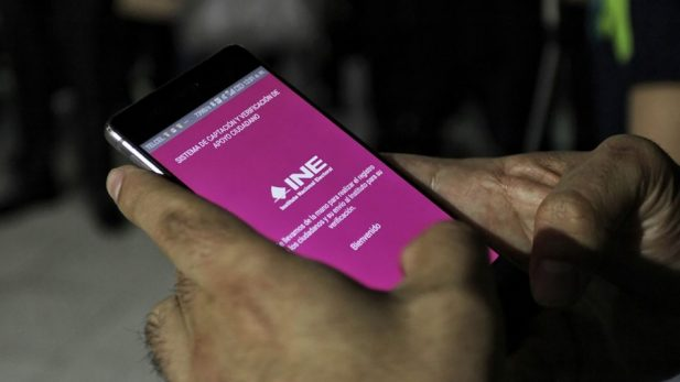 Descarta INE reemplazar app para recolección de firmas