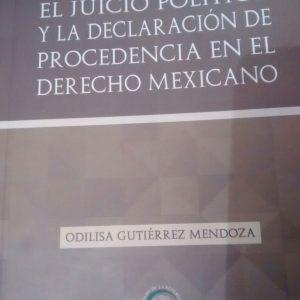 La magistrada Odilisa Gutiérrez Mendoza