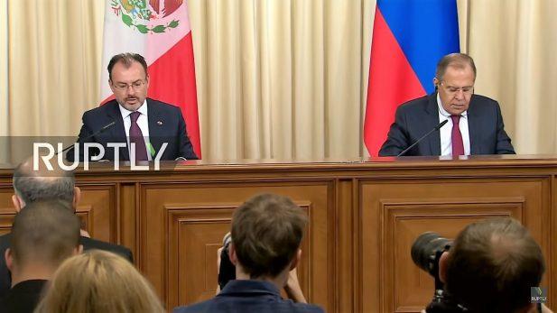 Niega Lavrov injerencia rusa en México; no tenemos evidencia: Videgaray