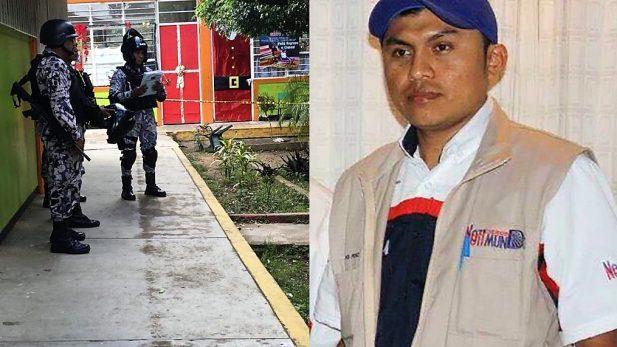 Asesinan al reportero Gumaro Pérez Aguilando en Veracruz