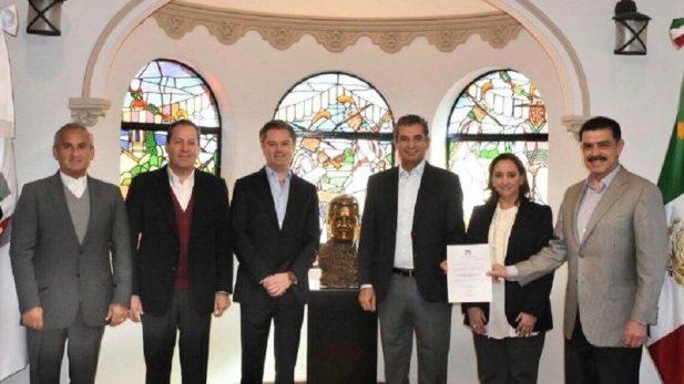 Francisco Olvera toma el PRI-CDMX y Eruviel va a la campaña de Meade