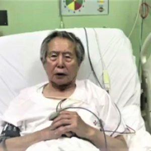 Fujimori, indultado el domingo, pidió perdón por actos de su gobierno