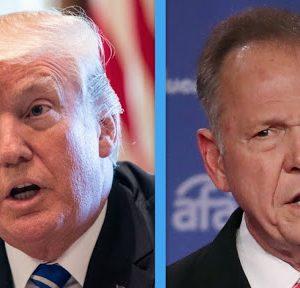 Trump muestra su apoyo a Moore, senador acusado por acoso sexual