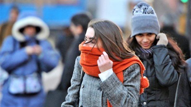 Activan alerta naranja en 5 delegaciones por bajas temperaturas