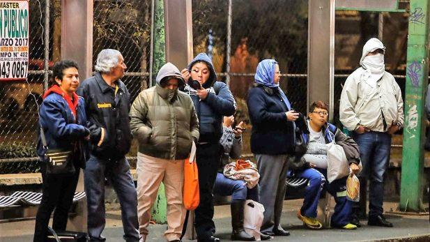 Cinco delegaciones en alerta amarilla por frío en la capital