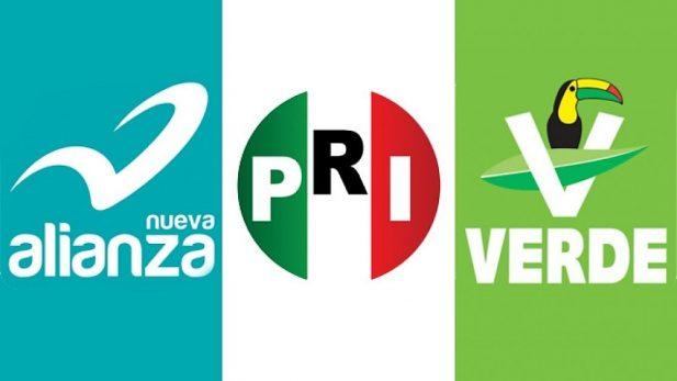 Autoriza INE nuevo nombre de coalición PRI-PVEM-NA: Todos por México