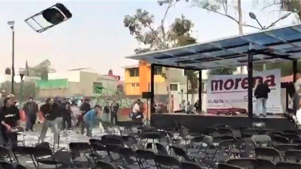 Nuevo zafarrancho entre morenistas y perredistas en Coyoacán