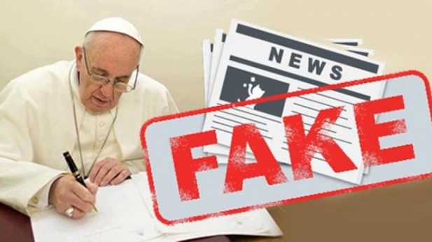 El papa Francisco defendió un periodismo 'hostil a las falsedades'