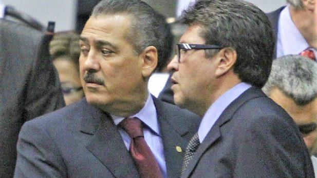 Ricardo Monreal respalda a Manlio Fabio Beltrones