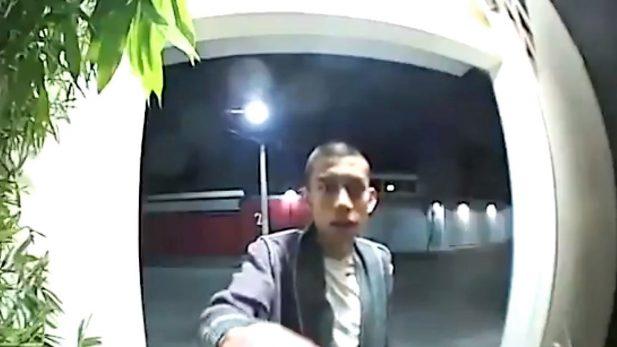 Video del joven Marco Antonio Sánchez, la víspera de ser localizado