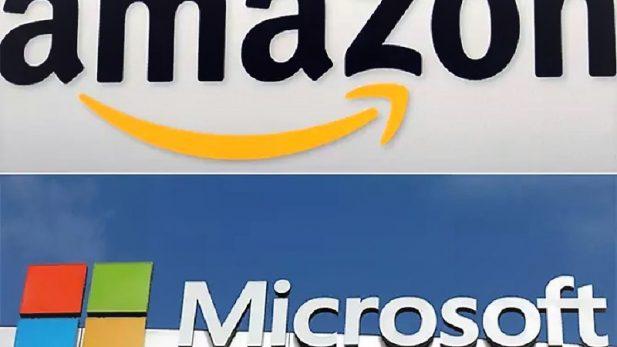 Amazon caza a Microsoft tras larga persecución, y le quita el tercer lugar