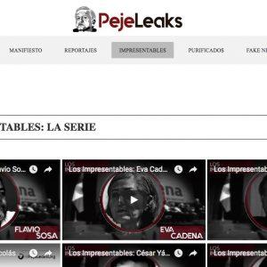 Crece la red PejeLeaks.org y pide donativos en Bitcoins