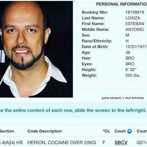 Detienen por posesión en EU, al exbeisbolista mexicano Esteban Loaiza