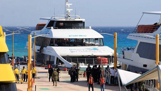 Falla técnica, probable causa de la explosión del ferry en Quintana Roo