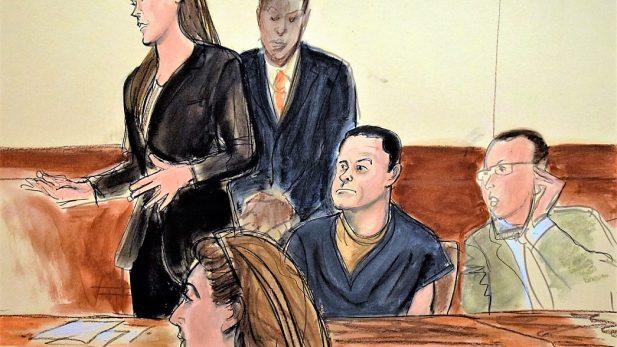 """Ordenan jurado """"anónimo y protegido"""" en juicio contra el 'Chapo' Guzmán"""