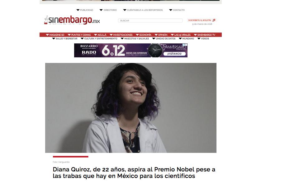 Diana Quiroz y la complicidad de los medios