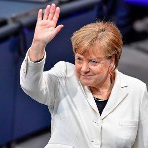 Asume Merkel su 4o término aliada con la izquierda, como 2 veces previas