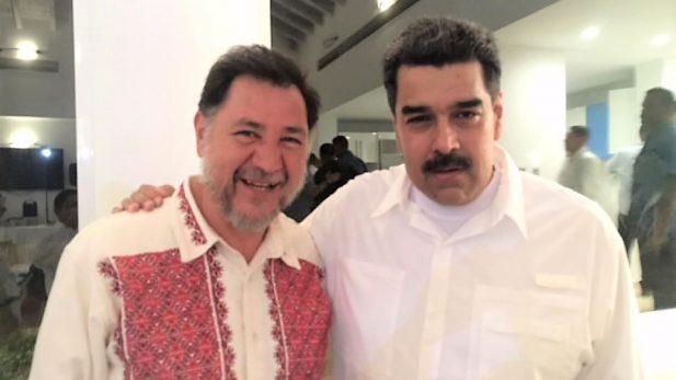 Defiende Fernández Noroña al gobierno de Nicolás Maduro en Venezuela