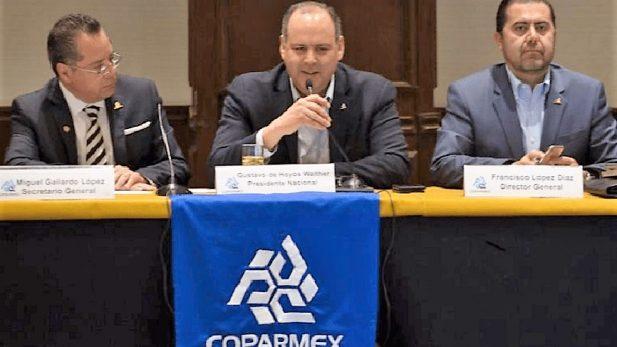 Urge Coparmex a AMLO a la tolerancia y evitar acusaciones calumniosas