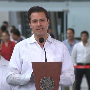Condena Peña Nieto violencia durante elecciones; es inaceptable, resalta