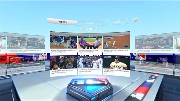 El beisbol profesional se suma a la realidad virtual con el 'MlB at Bat VR'